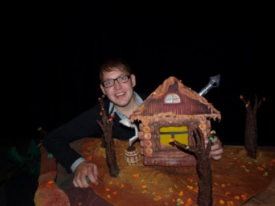 В театре кукол можно делать волшебные штуки